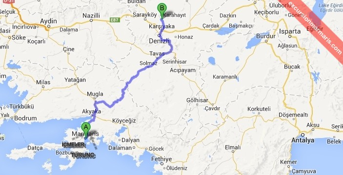 Marmaris Tours Pamukkale