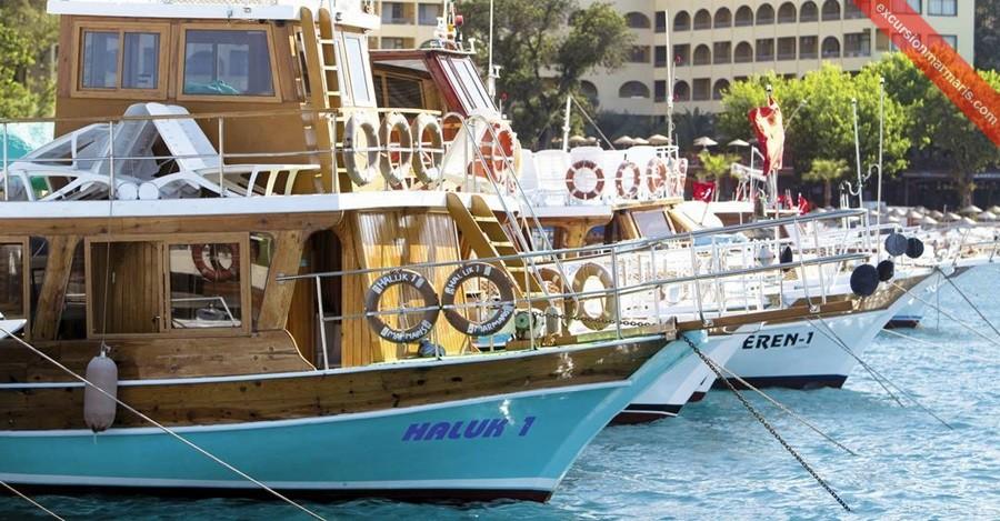 Turunc Boat Trips - Cleopatra Island