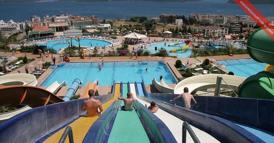 Turunc Waterpark Aqua Dream The Biggest Waterpark Near Turunc