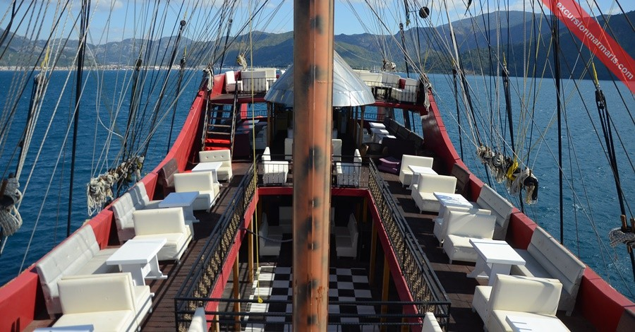 Pirate Boat Trip Marmaris