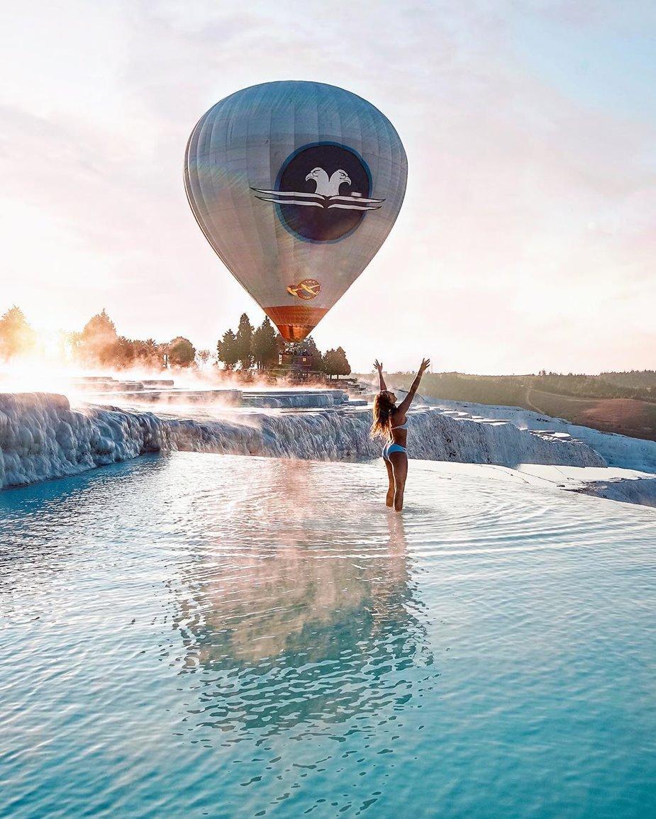 Pamukkale Balloon Tour Hot Air Balloon Ride Pamukkale