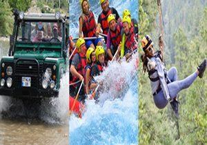 Antalya Rafting & Jeep Safari & Zip Line Combo Tour
