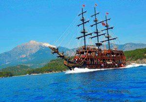 Antalya Pirate Boat Trip